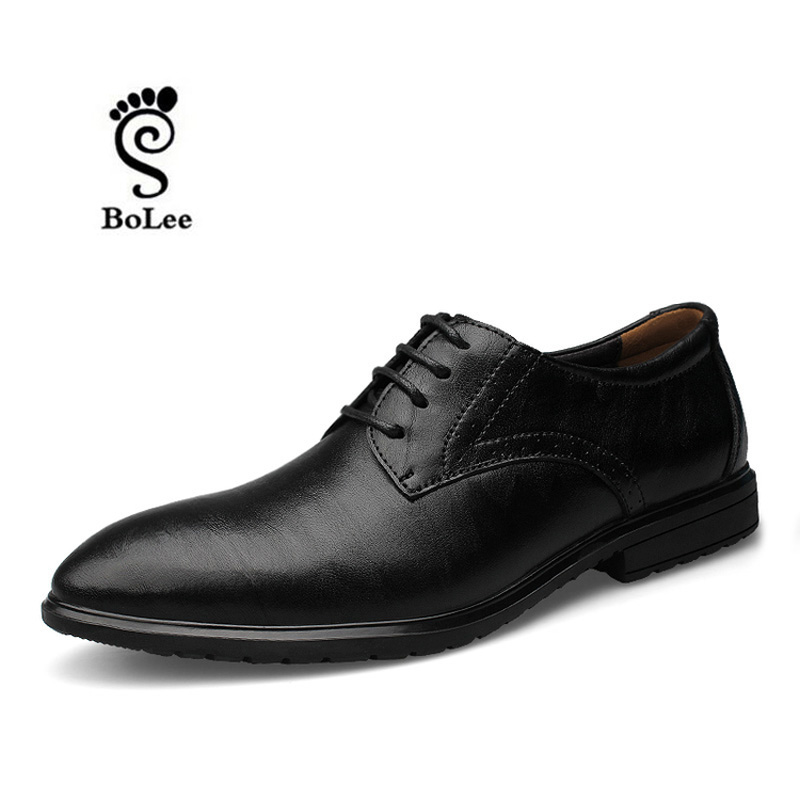 High quality shoes men genuine leather oxford shoes,Increased within 6 CM dress shoes Handmade plus size men flats shoes<br><br>Aliexpress