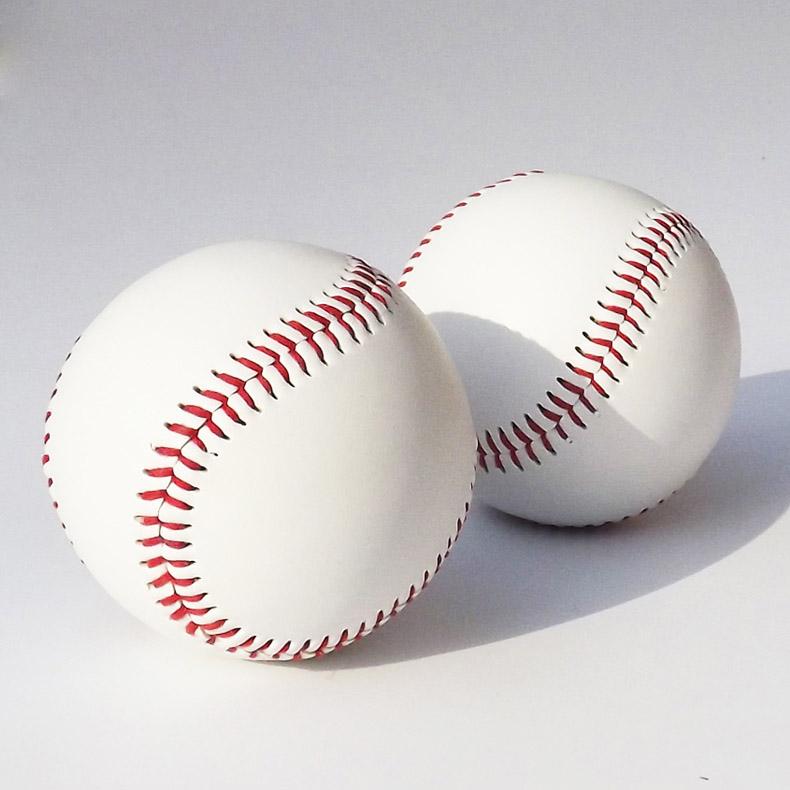 """9"""" Handmade Baseballs PVC Upper Rubber Inner Soft Baseball Balls Softball Ball Training Exercise Baseball Balls(China (Mainland))"""
