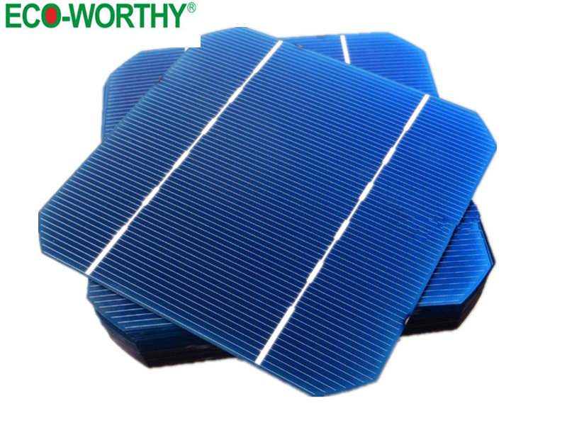 100pcs 5x5 A Grade 2.7W Monocrystalline Solar Cell 125*125mm Monocrystalline Solar Cells for DIY Solar Panel Solar System(China (Mainland))