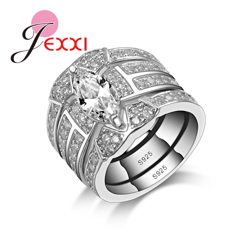 popular 3 piece wedding ring sets buy cheap 3 piece wedding ring sets