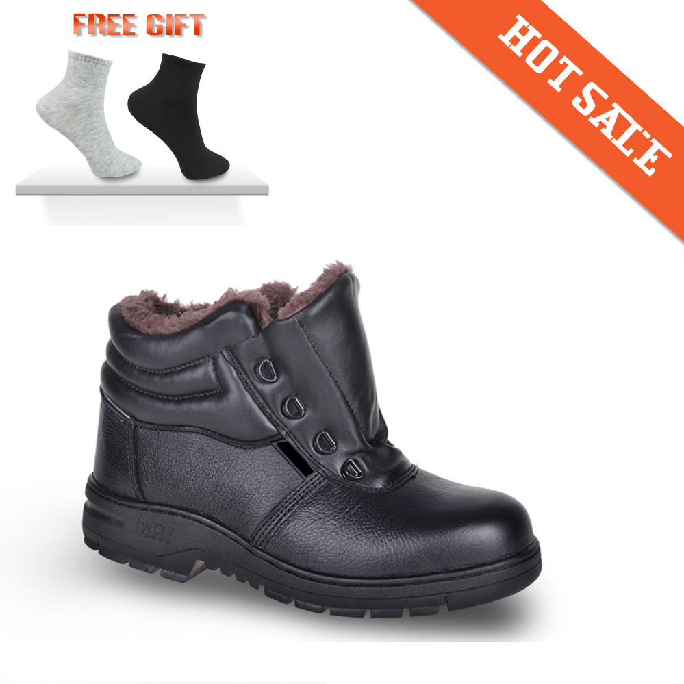 2015 Free Shipping Winter Protective Shoes Work Shoes Anti Smashing Steel Toe Men Winter Man ...