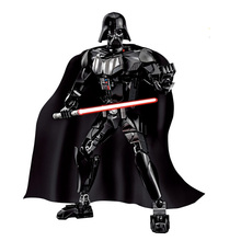 2016 New Star Wars Darth Vader Toy with Lightsaber Building Blocks 160pcs/set Buildable Figure toys Compatible with Lego