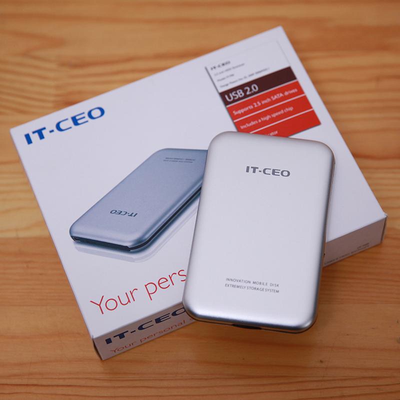 "IT-CEO Original 2.5"" NEW portable external hard drive disk 1TB USB2.0 HDD 1000GB for laptops & desktops(China (Mainland))"