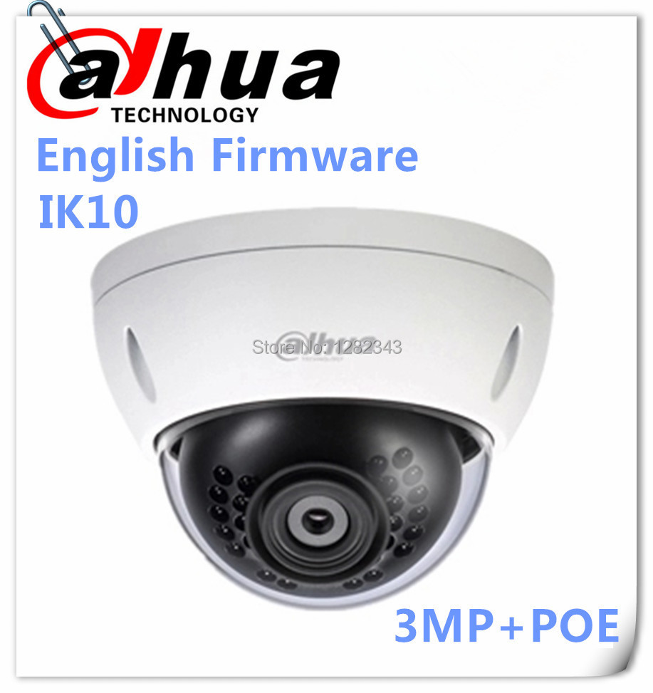 Камера наблюдения DAHUA 2015 HDBW4300E 3MP dh/IPc/HDBW4300E IP IP66, IK10, PoE Onvif PoE DH-IPC-HDBW4300E ipc hfw4231d as dahua cctv security ip camera 3 6mm lens 4mp full hd bullet network camera ip66 with poe