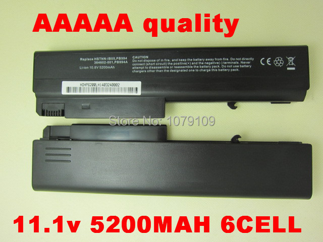 battery forHP COMPAQ Business Notebook NC6230 nc6300 nc6320 NC6400 NX5100 nx6130 NX6140 NX6300 NX6310 NX6310/CT NX6315 NX6325(China (Mainland))