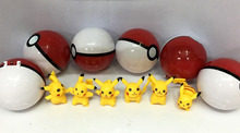 Pokemon GO Pikachu Eggs Poke Balls 6 pieces set mini PVC Figures toy doll gift new game - Wonderful Toys store