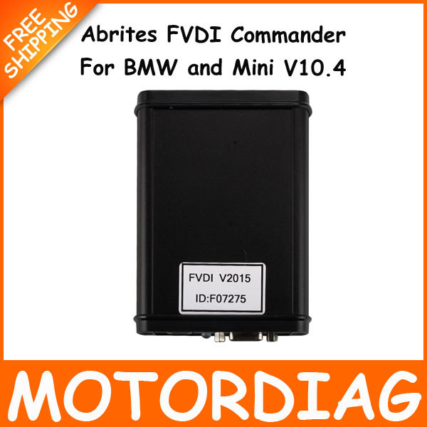 For FVDI Abrites BMW V10.4 Mini AVDI Commander Vehicle Diagnostic Interface Scanner Automotivo Escaner Automotive Scaner For Car(China (Mainland))
