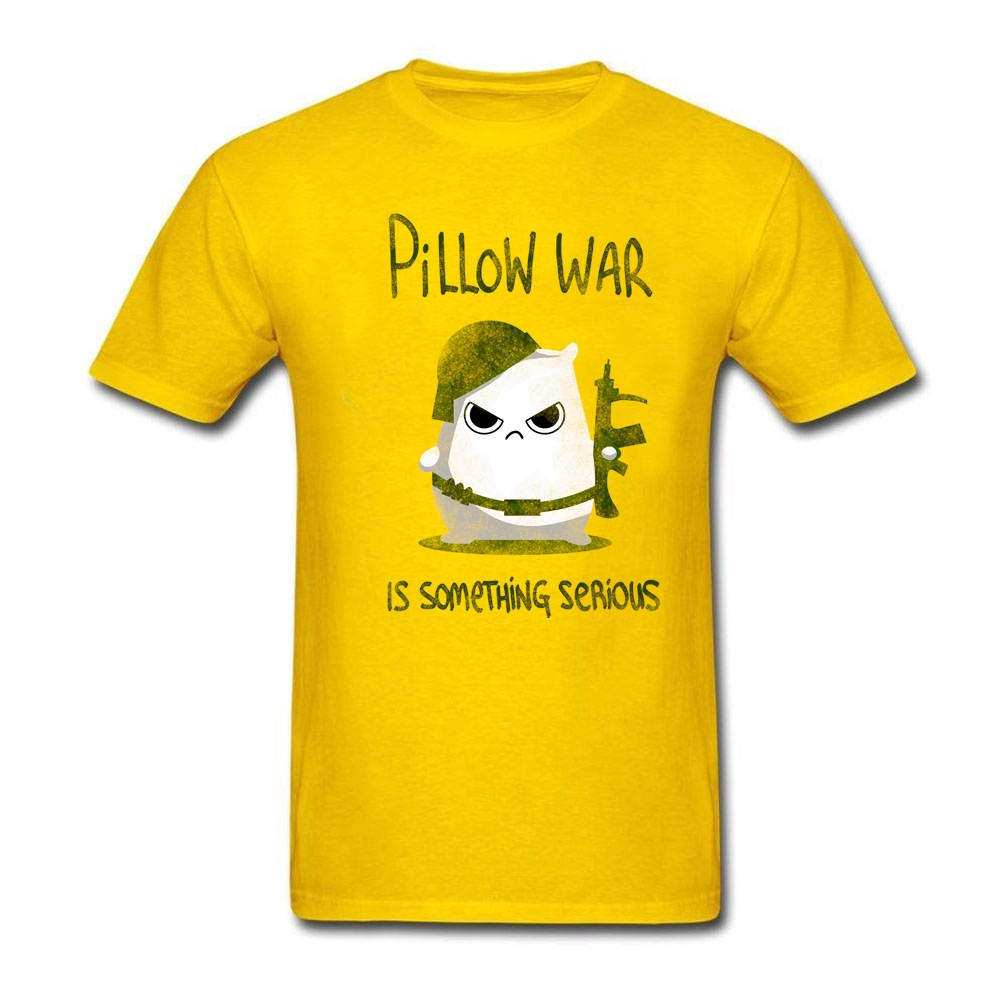 Curved Pillow war is something serious Teenage Organic Cotton t shirt buy Old Adult Crew-Neck Short-Sleeve Summer Dress(China (Mainland))