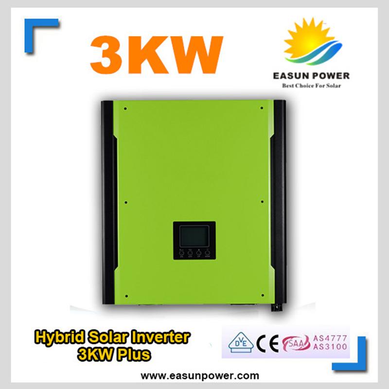 Promotion Solar Inverter 3000W Grid Tie Inverter 48V to 220V 4500W MPPT Inverters Pure Sine Wave Hybrid Inverter 30A AC Charger(China (Mainland))