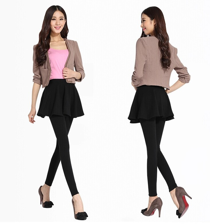 Style Pleated skirt pantyhose was just