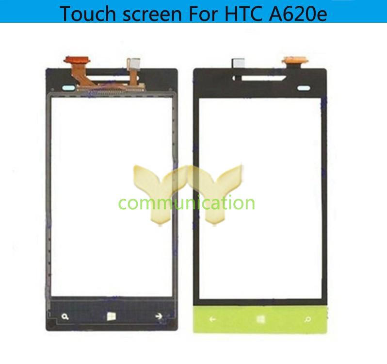 Blue/Orange/Lemon/White Wholeale OEM Touch Panel Glass Lens Replacement For HTC Windows 8S A620e 5 PCS A LOT With Free tools(China (Mainland))