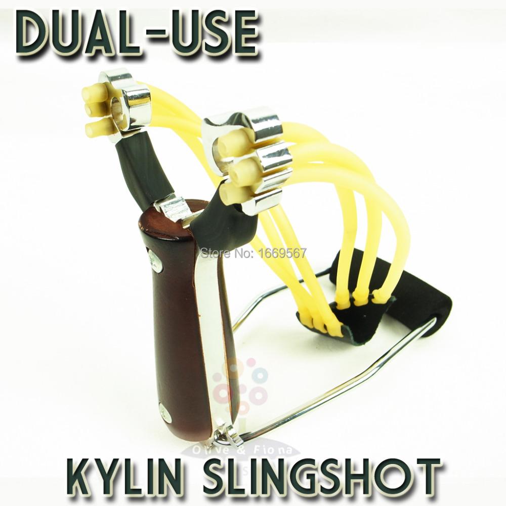 Powerful Wrist Slingshot Hunting Catapult Wooden Handle High Density Alloy Hunter Folding Wrist Sling Shot(China (Mainland))