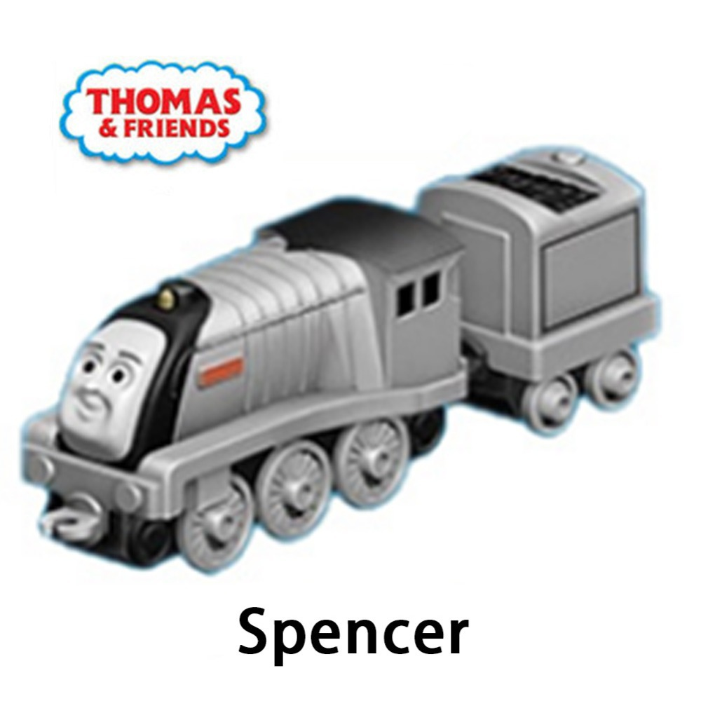 Thomas & Friends Brand toy BHX25-Spencer mid Diecast Metal thomas hook Plastic metal miniature Railroad Train toy kids toy gift(China (Mainland))