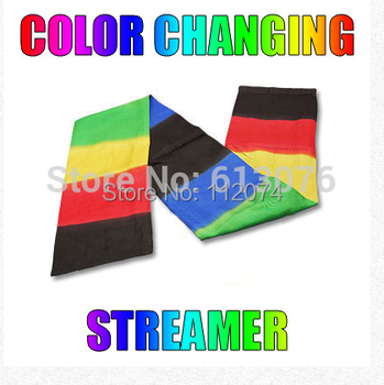 Color Changing Streamer (122cm*18cm) - Magic trick,magic trick,close up magic,scarves magic
