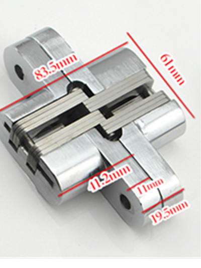 Folding door hinge hinge cross concealed door hinge length 94MM width 63mm(China (Mainland))