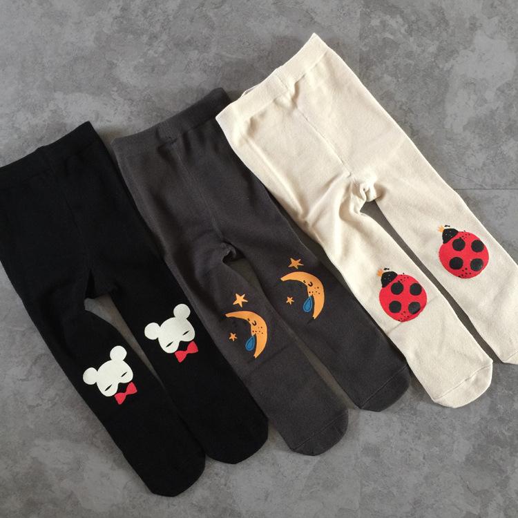 NEW 0-4Y girls stockings cartoon kids pantyhose winter ...