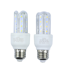 Buy Energy saving 3W E27 LED Corn Bulb Outdoor Lighting 16 SMD 2835 360 Degrees U Shape AC85-265V LED lamp Chandelier Candle Light for $2.69 in AliExpress store