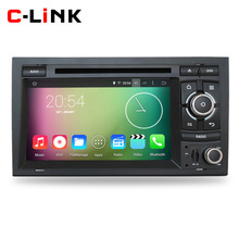 "Quad Core 1.6GHz 7"" 1024*600 Android 4.4 Car PC Video Player GPS Radio For Audi A4 S4 RS4 2002-2008 RDS WIFI Bluetooth Call OBD2(China (Mainland))"