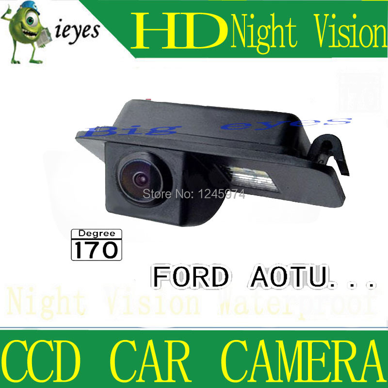 CCD Chip Car Rear View Reverse Parking CAMERA for FORD MONDEO/FIESTA/KUGA/FOCUS (2 carriages)/S-Max/CHIA-X(China (Mainland))