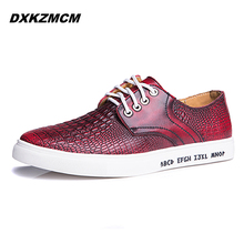 2016 Fashion Flats Shoes Men Loafers Genuine Leather Casual Shoes Retro Men Flats Oxford Shoes For Men Moccasin Driving Shoes