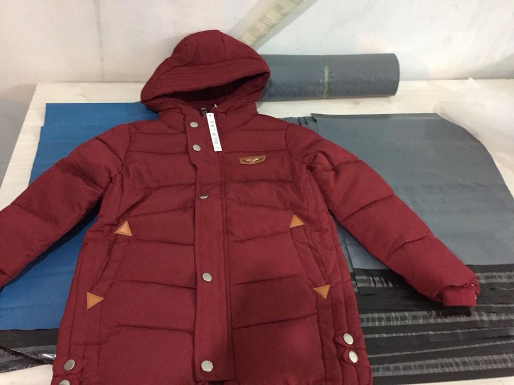 Скидки на Дети Зимние Куртки для Мальчиков Зимой Вниз Куртки Хлопка Пальто Толстые Верхняя Одежда с Капюшоном детские Пальто TMY46
