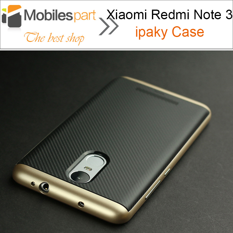 Xiaomi Redmi Note 3 Case 100 Original iPaky PC TPU w Frame Silicone Case Back cover