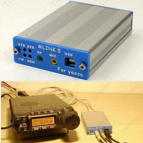 Hot!! USB PC linker Adapter for YAESU FT-817ND 857D 897D ICOM IC-2720/2820 CAT CW data Free shipping / tracking number(China (Mainland))