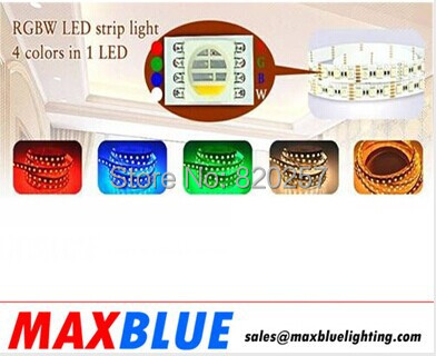 free shipping SMD5050 RGBW in one led strip, four colors in one led, 5m reel 24V 72leds/M CRI 80+, nonwaterproof IP20(China (Mainland))