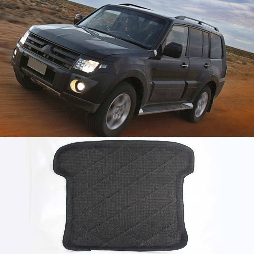 3D Heavry Duty Rear Tail Car Truck Cargo Mat Tray Liner Waterproof For Mitsubishi Pajero 2007-2011