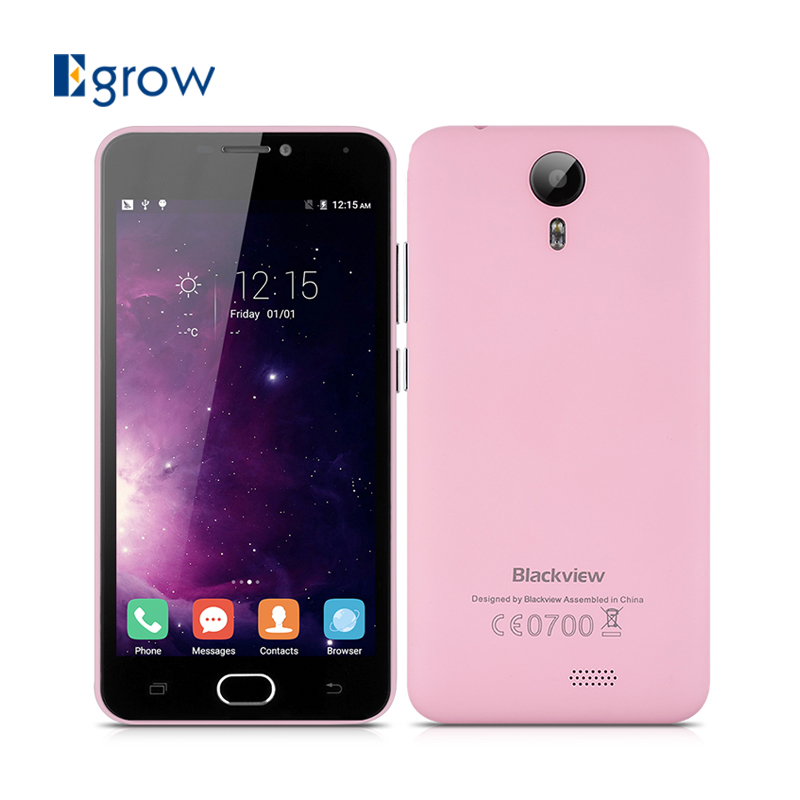 Original Blackview BV2000 Android 5.1 Cellphone MT6735P Quad Core Mobile Phone 5.0 inch Unlocked 2G/3G/4G Band Smartphone(China (Mainland))