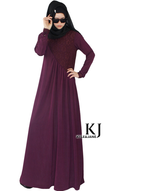 Awesome  Middle Eastern Islamic Women Clothing Plus Size Black Dress Robe Send