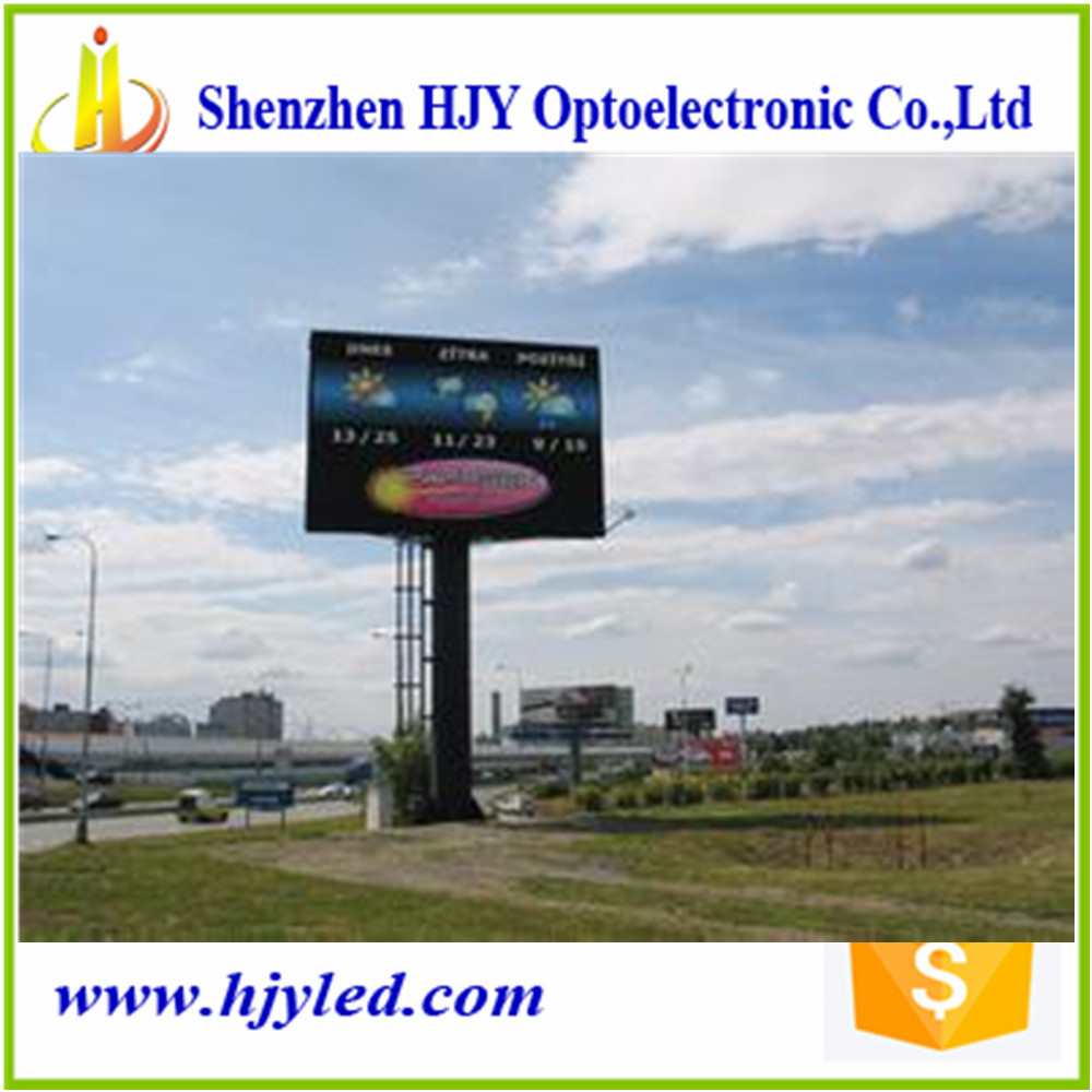 high quality P12.5 full color waterproof led traffic sign(China (Mainland))