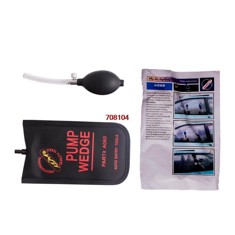 Top quality Whole Sale diagnostic tool pump wedge black small Auto Air PUMP WEDGE Locksmith Tool 10 pcs/bag(China (Mainland))