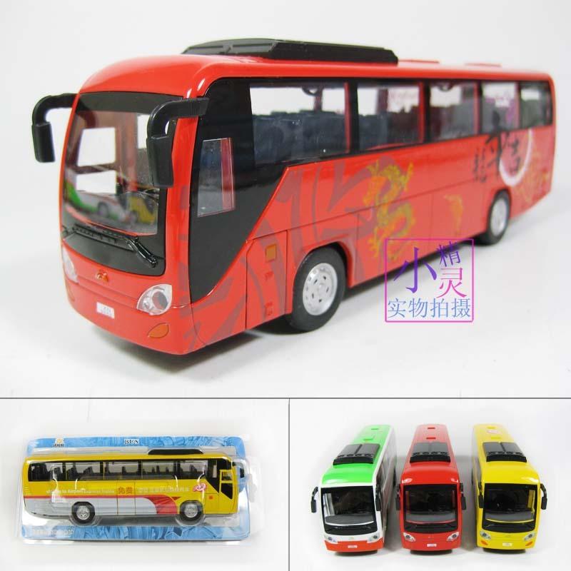 Bus car model in cars alloy WARRIOR car plain(China (Mainland))