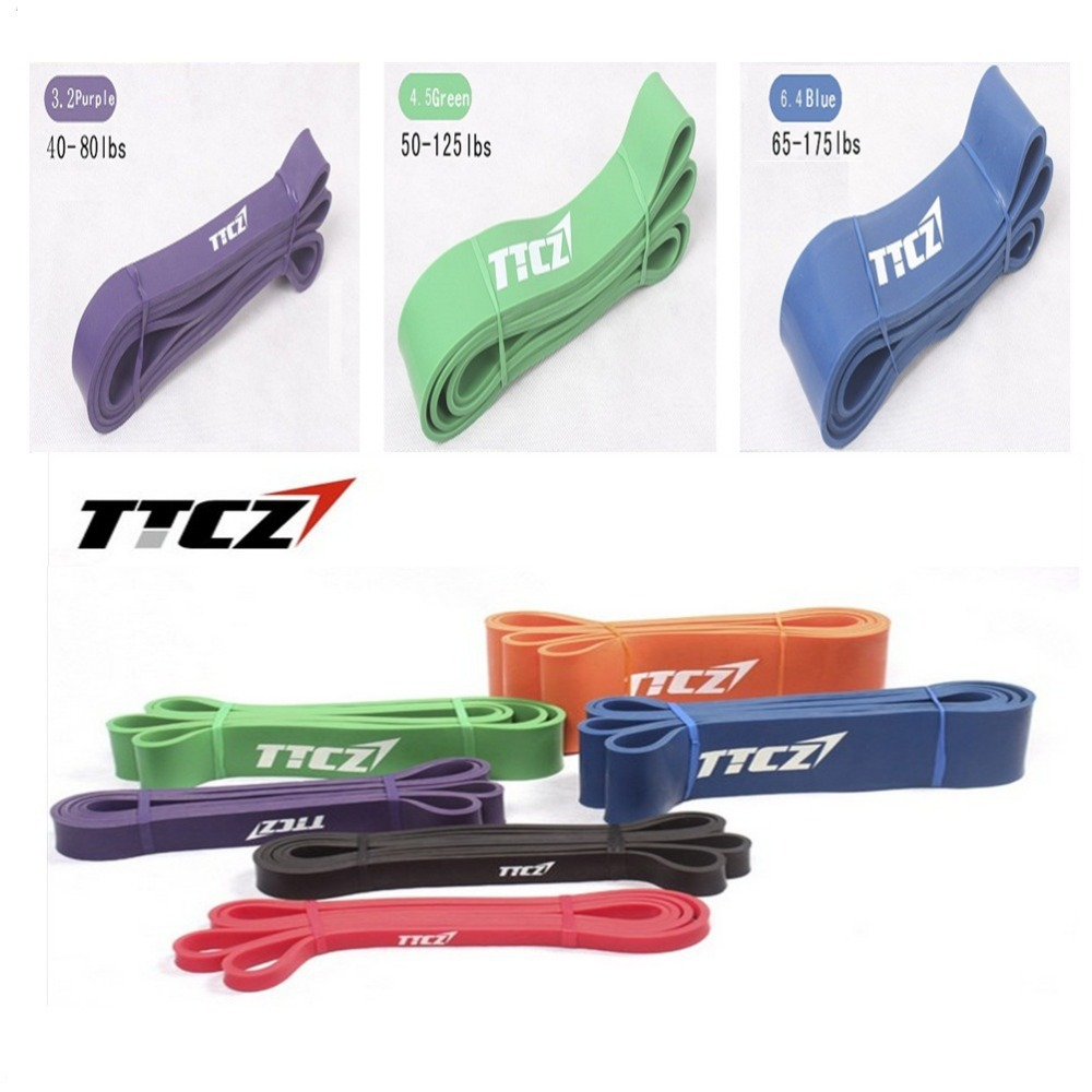 3Psc/Lot 3 Levels Available Medium Yoga Pull Up Assist Bands Crossfit Exercise Body Fitness Resistance Bands 3.2cm,4.5cm,6.4cm<br><br>Aliexpress