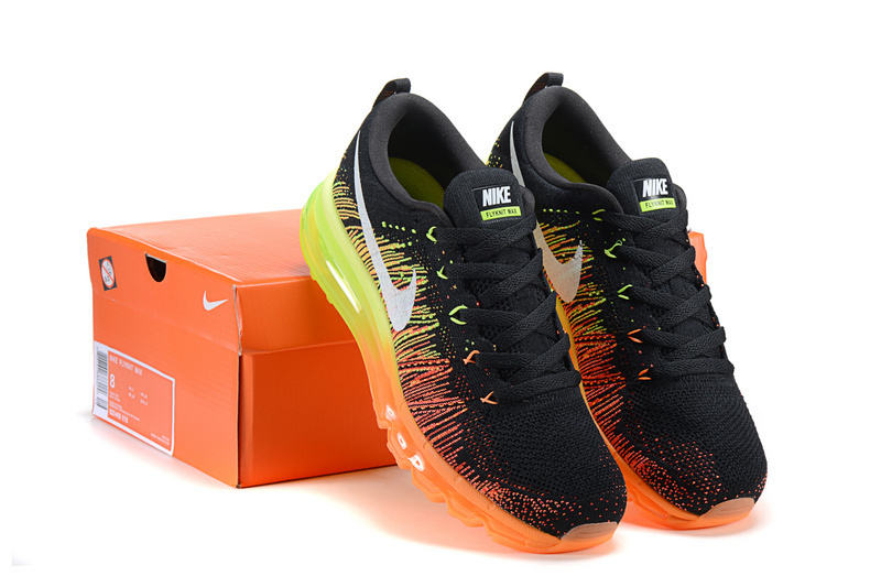 100% Original Women's 2015 RuN WaLking ShoEs 90+87 BaskeTBall ShoEs Black Green Orange SpoRt ShoEs With Original Box Size 36-40(China (Mainland))