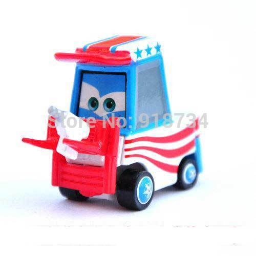 100% original Pixar Cars diecast figure TOY Mater forklift free shipping (pieces/lot)(China (Mainland))