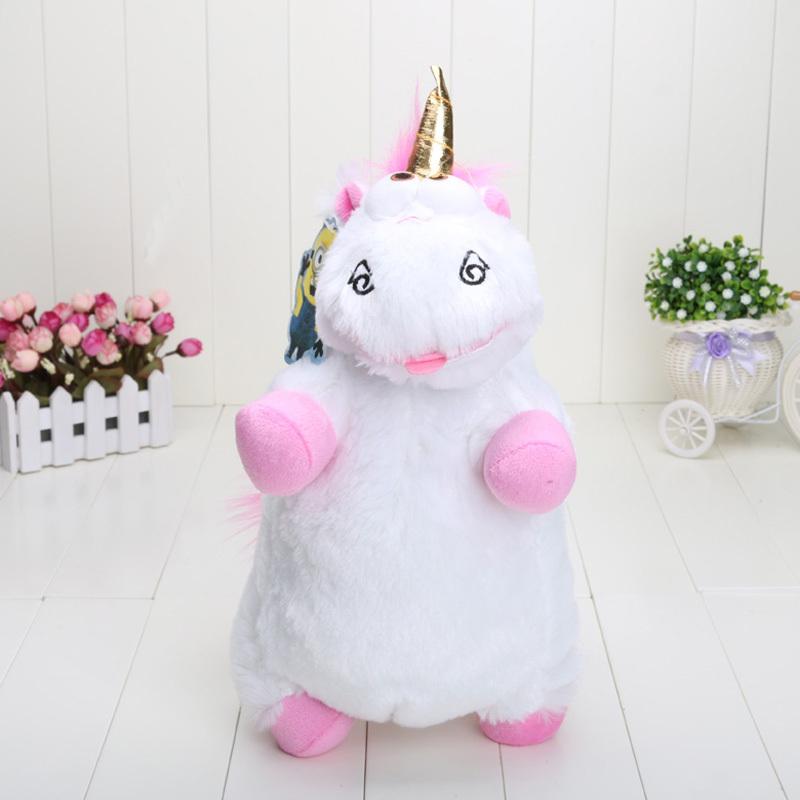 "16"" 40cm Despicable ME Unicorn Plush Toy Soft Stuffed toys Animal Dolls Free Shipping(China (Mainland))"