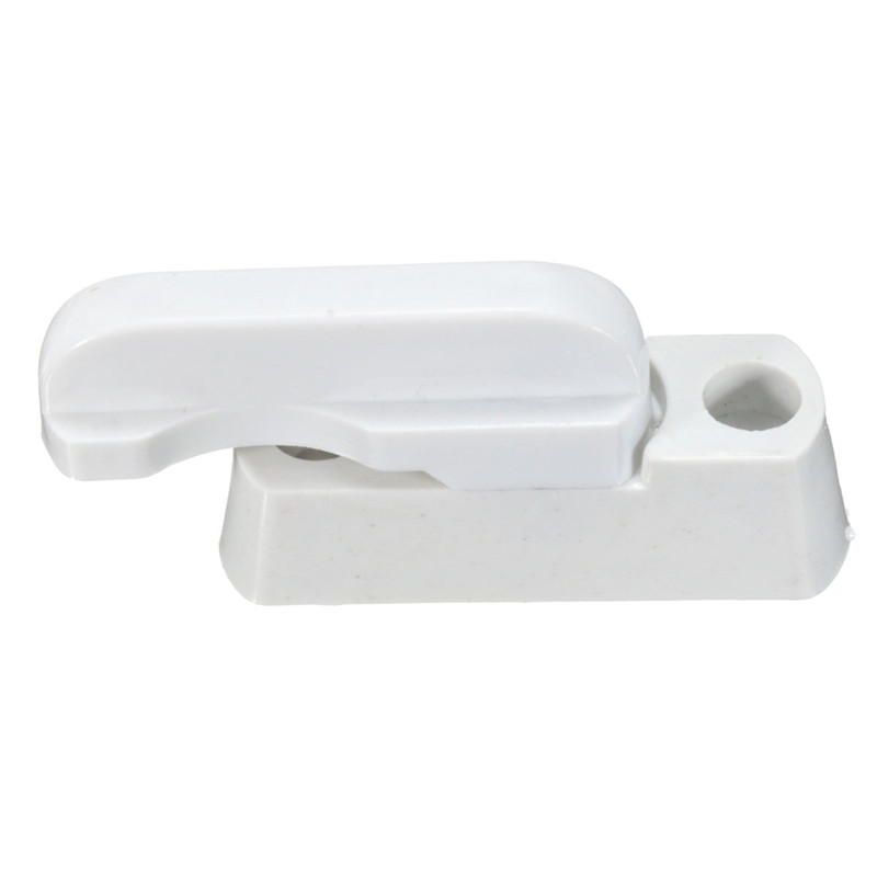 Excellent Quality 2 PCS Plastic Stainless Steel Zinc Alloy UPVC Child Safe Security Window Door Sash Lock Handle Sweep Latch(China (Mainland))