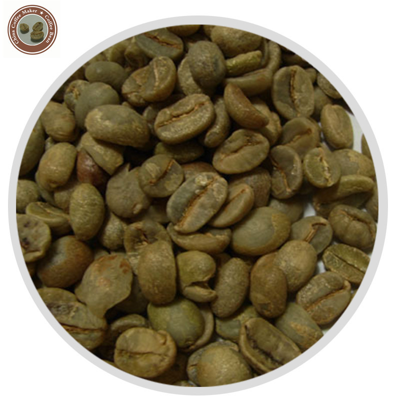 China Yunnan Green Coffee Bean Organic Typica 1000g Free Shipping