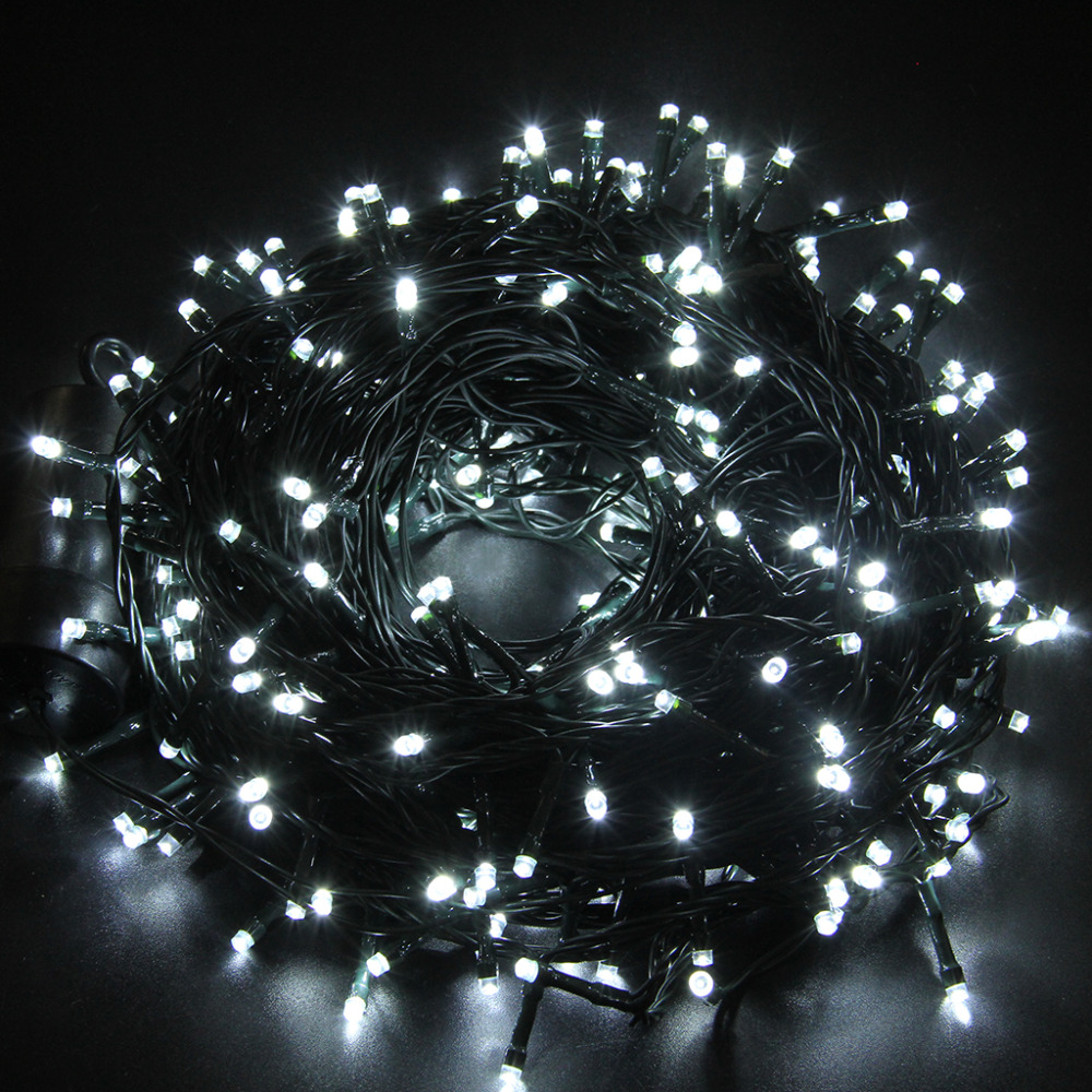Excelvan LED Strip 40M 300 Leds 131FT String Light Battery Operated Copper Wire String Christmas ...