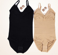 1pcs/lot free shipping Womens Body Shaper Slimming Tummy Control Shapewear Bodysuit Corset  Belly carry buttock toning