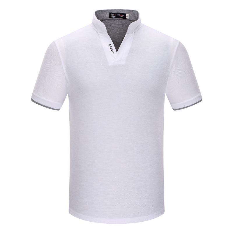Stand Collar Shirts Designs : T shirt men summer new fashion stand collar short
