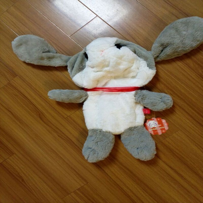 1pcs 48cm cute Japanese long-eared rabbit skin plush toy rabbit doll Papa Rabbit bulk of the girl's gift(China (Mainland))