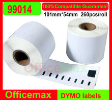 10x Rolls Dymo Compatible Labels 99014 dymo 9014 Mail name badge Seiko labels 54x101mm