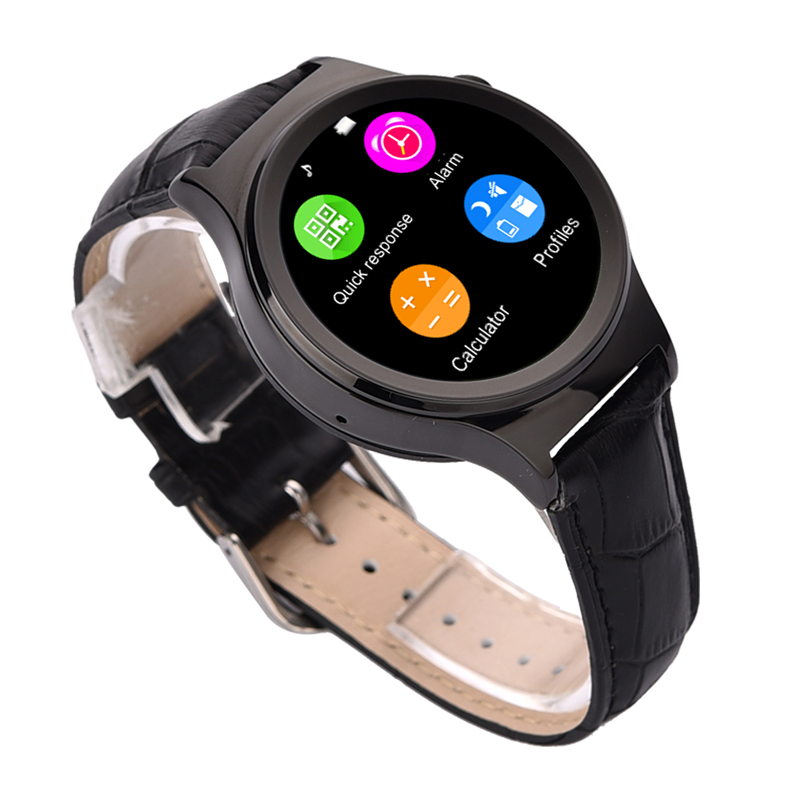 Wristwatch Bluetooth 4 0 T3S Smart Watch T3 for Apple 5s 6s IOS Samsung Android Smartphone