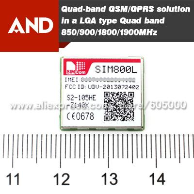 GSM/GPRS quad-band module,SIM800L,LGA package,smallest GPRS module SIM800L(China (Mainland))