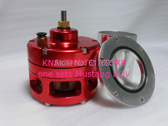 KNATMOTO STORE NEW BOV Bypass Valve Open Valve Parts Blow Off Valve for Mustang Model(China (Mainland))