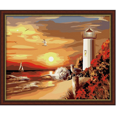 Diy digital oil painting decorative painting digital oil painting 40 50