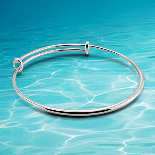 Fashion solid genuine 925 sterling silver lady's bracelet & bangle(China (Mainland))